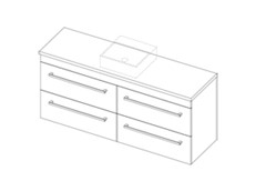Riva Classic CP 1500 Wall - 4 Drawer