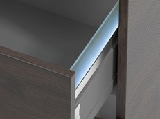 Essentia LED Drawer - 2 Drawer