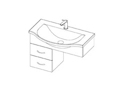 Easy Euro S/R 750 - 2 Drawers