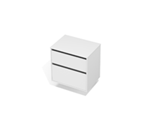 City 50 700 Wall - 2 Drawer