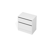 City 50 - 800 Floor - 2 Drawer