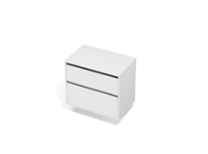 City 50 800 Wall - 2 Drawer