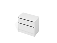 City 50 - 900 Floor - 2 Drawer