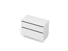 City 50 - 1000 Wall - 2 Drawer