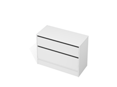 City 50 - 1100 Floor - 2 Drawer