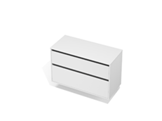 City 50 - 1100 Wall - 2 Drawer