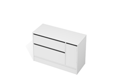 City 50 - 1200 Floor - 1 Door 2 Drawer