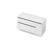 City 50 - 1300 Wall - 1 Door 2 Drawer