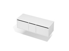 City 50 - 1400 Wall - 1 Door 2 Drawer