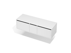 City 50 - 1500 Wall - 1 Door 2 Drawer