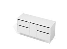 City 50 - 1500 Wall - 1 Door 4 Drawer