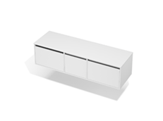 City 50 - 1600 Wall - 1 Door 2 Drawer