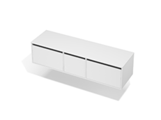 City 50 - 1700 Wall - 1 Door 2 Drawer