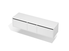 City 50 - 1800 Wall - 1 Door 2 Drawer