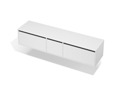 City 50 - 2000 Wall - 1 Door 2 Drawer