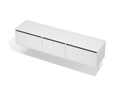 City 50 - 2100 Wall - 2 Door 2 Drawer