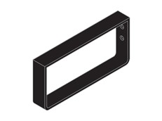 Towel Rail - Black