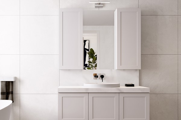 New London Mirror & Cabinet