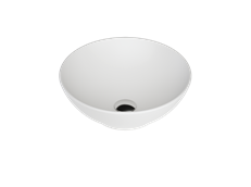Sfera Basin Matte White (RC)